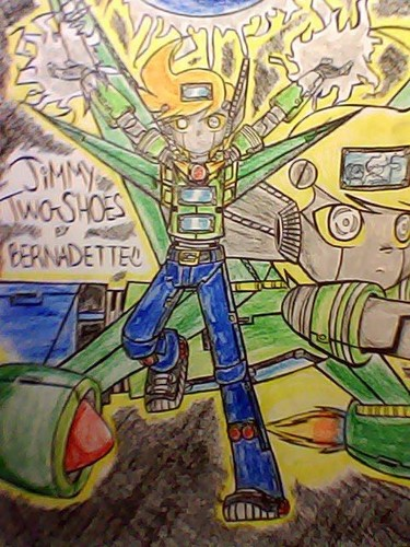 My Drawing of Animated Voltron Jimmy... My Own Version