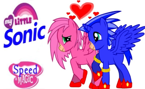 My Little Sonic: Sonic and Amy
