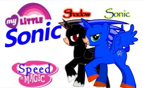My Little Sonic: Sonic and Shadow