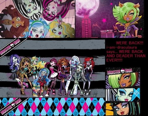 My monster high mashup