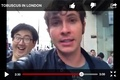 My vid stopped and third is what I saw - tobuscus photo