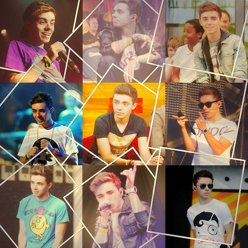 Nathan Sykes Collage