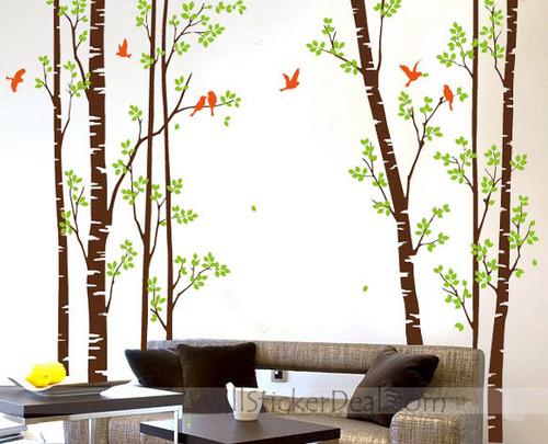 Nature Forest tường Sticker