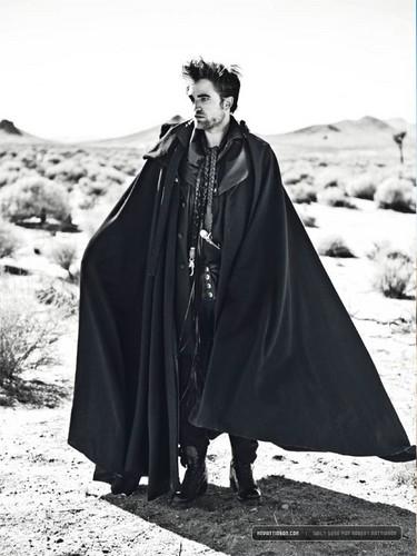 "New scans: Rob in ""L'Uomo Vogue"" magazine {November 2012}."