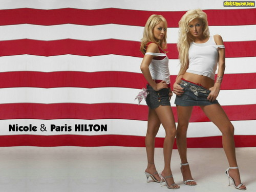 Nicole & Paris Hilton