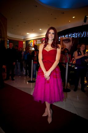 October 25 - 'Breaking Dawn - Part 2' Fan Event, South Africa - ashley-greene Photo