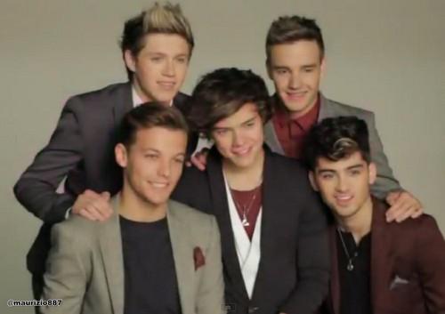 One Direction Cosmopolitan Cover Shoot , 2012