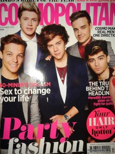 One Direction  Cosmopolitan Cover Shoot , 2012