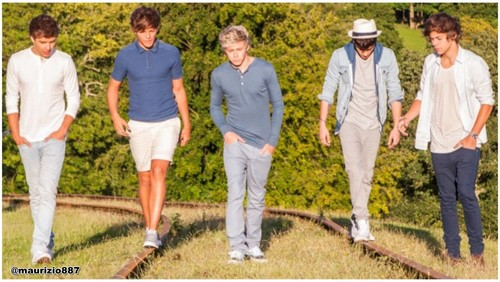 One Direction 'Take Me Home' 2012.