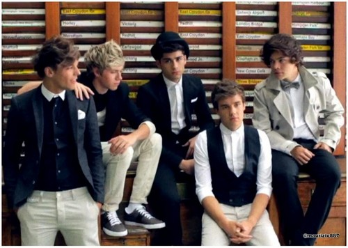 One Direction Take Me trang chủ photoshoot 2012