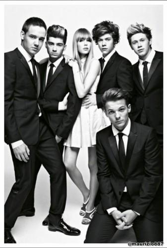 One Direction in Vogue Magazine 2012