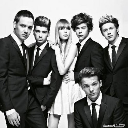 One Direction in Vogue Magazine 2012