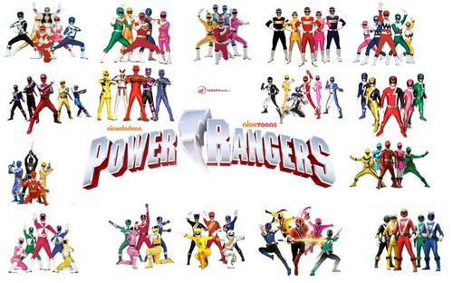 The Power Rangers wallpaper titled PR