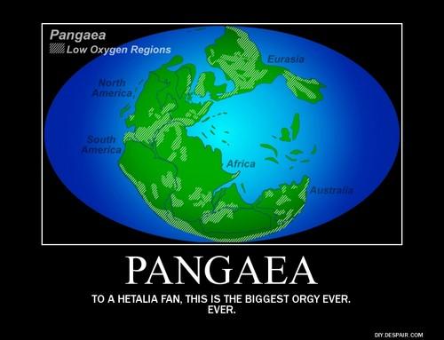 Pangaea hetalia - axis powers Demotivational Poster