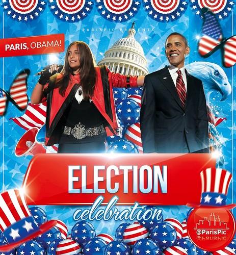 Paris Jackson Barack Obama Election Celebration (@ParisPic)
