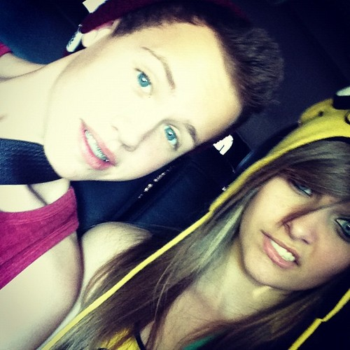 Paris's friend Bjan and Paris Jackson ♥♥