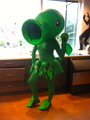 Pea shooter halloween costume - plants-vs-zombies photo