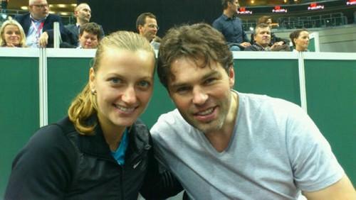 "Petra Kvitova : ""Jagr came to our game"""