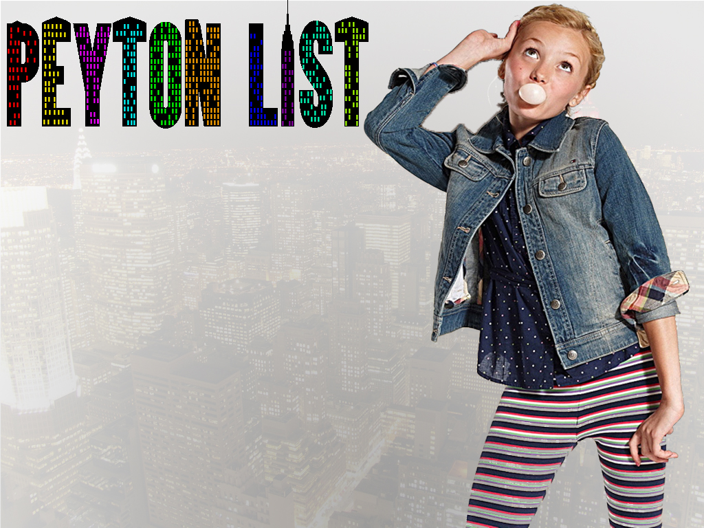 Peyton Roi List Wallpaper
