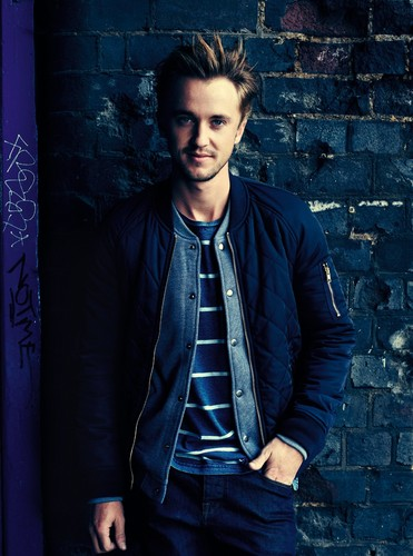Tom Felton wallpaper containing a business suit and a well dressed person entitled Photoshoot by Matt Holyoak [2012]
