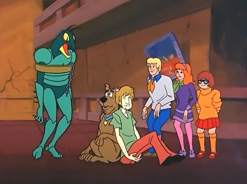 Scooby-Doo wallpaper containing anime titled Plan 46