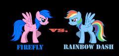 arc en ciel Dash vs Firefly ,who gonna win?