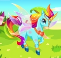 Rainbow Unicorn - girlsgogames photo