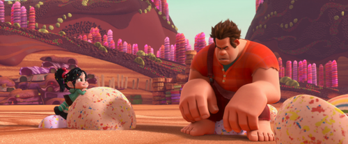 Ralph and Vanellope Screencap
