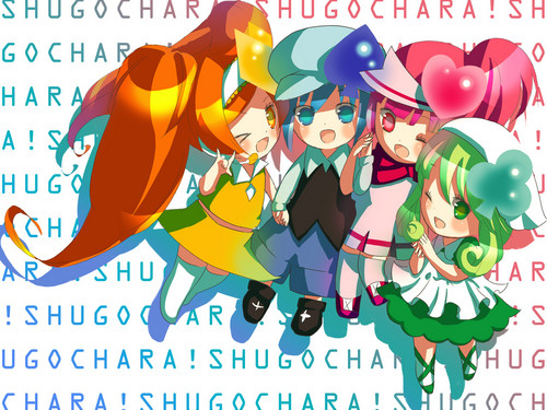 Shugo Chara wallpaper with anime entitled Ran Miki Su Dia