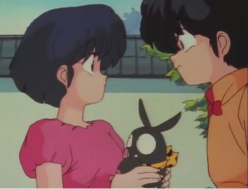 "Ranma's jealous of Akane's ""little p-chan"""