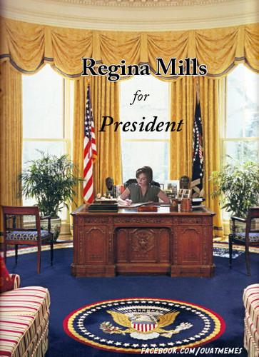Regina Mills for President