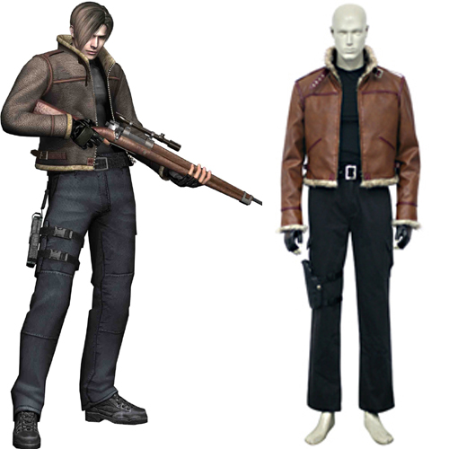 Resident Evil 4 Leon S Kennedy Cosplay Costume