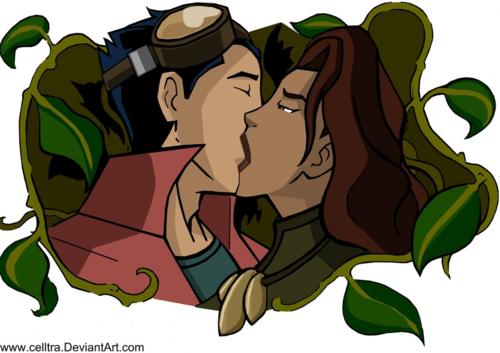 Rex and Valentina Kiss 4