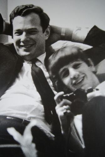Ringo with Brian Epstein