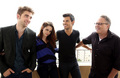 Rob,Kristen,Taylor and BD director Bill Condon - twilight-series photo