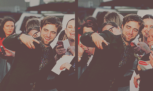 Rob With fans In Austrailia