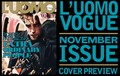 "Rob on the cover of ""L'Uomo Vogue"" magazine - November 2012. - robert-pattinson photo"