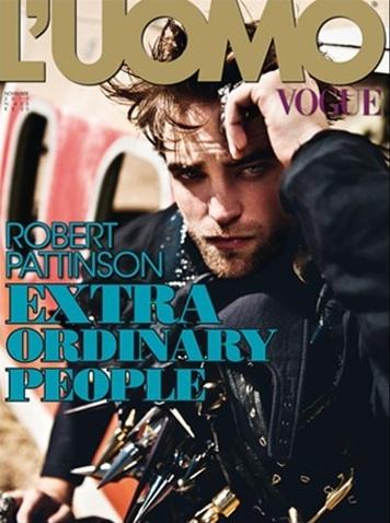 "Rob on the cover of ""L'Uomo Vogue"" magazine - November 2012."