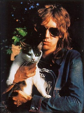 Roger and his cat