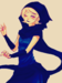 Rose Lalonde (Homestuck) - blindbandit92 icon