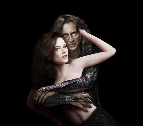 Once Upon a Time - Es war einmal... Hintergrund called Rumplestiltskin & Belle
