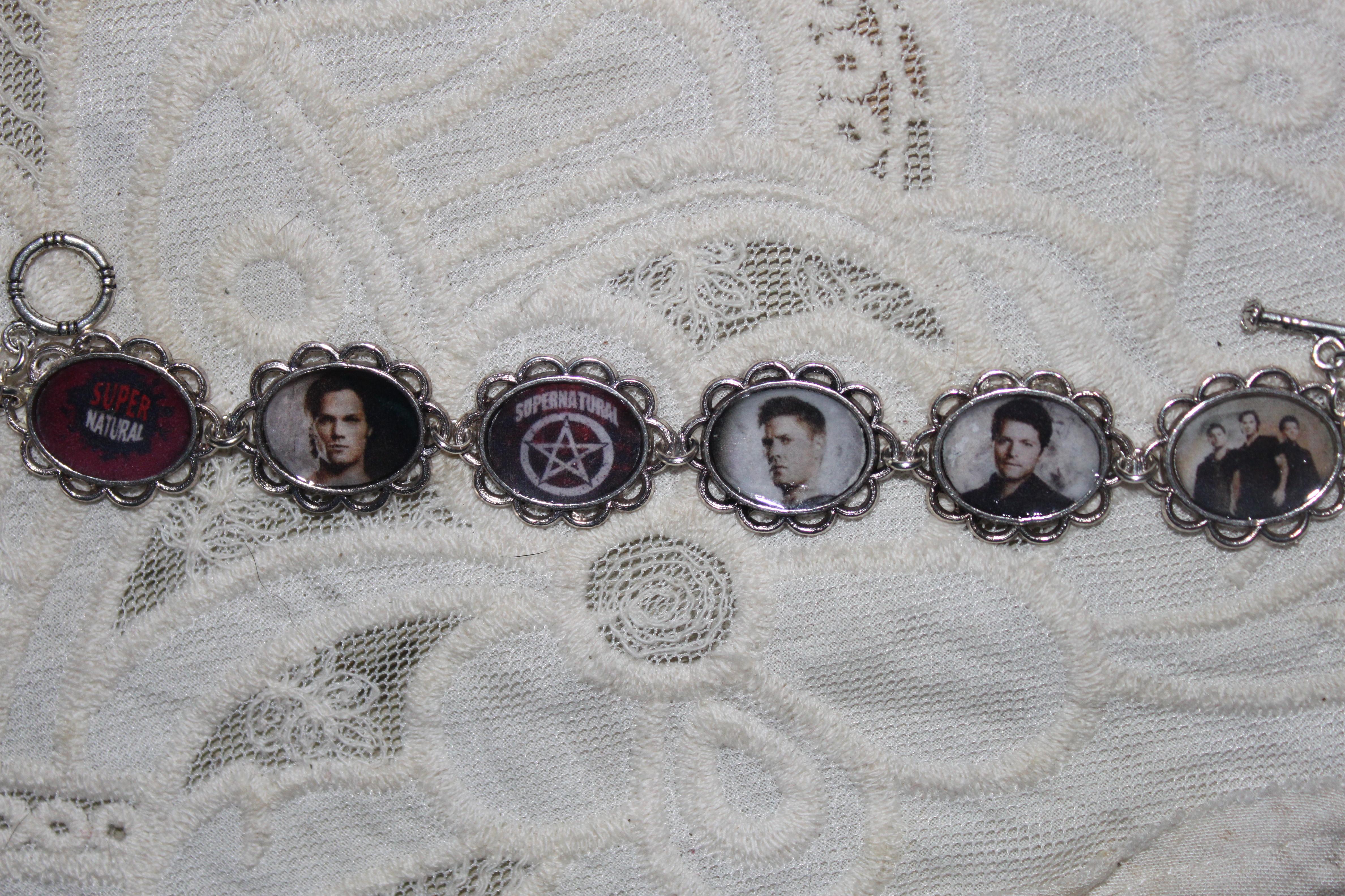 supernatural art bracelet