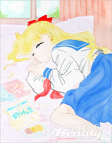 Sleepy Minako