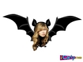 Sam as a bat