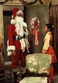 Santa Michael and Janet - michael-jackson photo