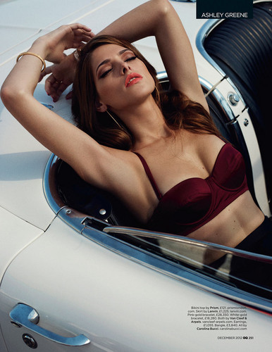 Scans of Ashley in 'GQ' magazine, December 2012. [Interview + New photoshoot] - ashley-greene Photo