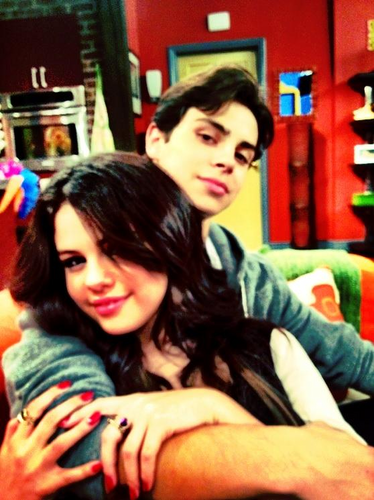 Selena Gomez and Jake T Austin