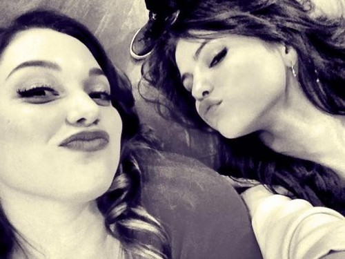 Selena Gomez and Jennifer Stone