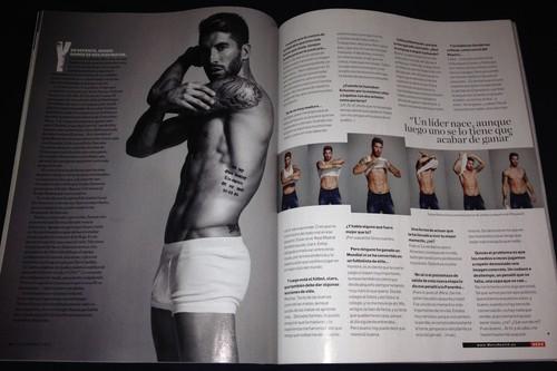 Sergio Ramos Men's Health