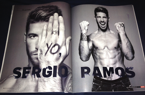 Sergio Ramos wallpaper entitled Sergio Ramos Men's Health